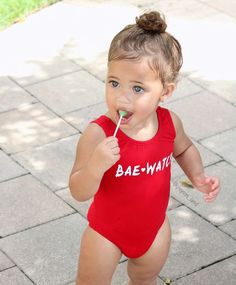 "one ❤ Gorgeous baby girl ""Bae Watch"" So Cute Baby, Cute Mixed Babies, Baby Kind, Pretty Baby, Cute Babies, Cute Kids Fashion, Baby Girl Fashion, Beautiful Children, Beautiful Babies"