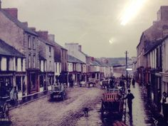 The old days in Ireland County Clare Kilrush
