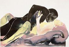 Make Love: las acuarelas eróticas de Tina Maria Elena - Cultura Inquieta Make Love, Web Instagram, Ten, Illustration, Anime, Painting, Lovers, Watercolors, Amor