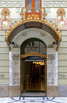 ♅ Detailed Doors to Drool Over ♅  art photographs of door knockers, hardware & portals - Praha, Czech Republic | Flickr