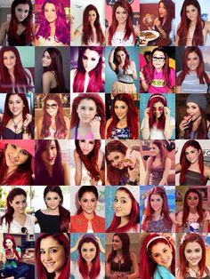 Collage: Ariana Grande/Cat Valentine