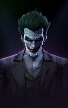 Joker from Batman origins Le Joker Batman, Joker Arkham, Batman Arkham Origins, Joker Art, Batman Art, Joker And Harley Quinn, Joker Comic, Comic Art, Joker Origin