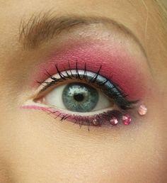 Pinks, blues, jewels