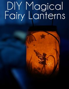 ~fairy lantern~ paper card tissue paper scissors craft knife glue cut candle false light lantern glass mason jar