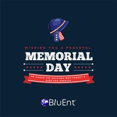 Happy Memorial Day from BluEnt! #memorialday #memorialdayweekend #usa #america #memorial #memorialdaysale #mdw #thankyou #family #military #veterans #redwhiteandblue #happymemorialday #freedom #remember #honor #neverforget Happy Memorial Day, Military Veterans, Wish, Freedom, Peace, America, Memories, Exhibitions, Events