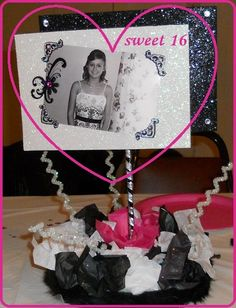 Blue Sweet Sixteen Decorations | Sweet 16 Table Decor in blue? | Party Ideas
