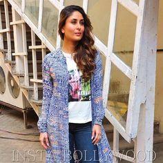 Photo Credit @BOLLYWOOD !    #Repost @BOLLYWOOD  Rate her look  1....  Kareena Kapoor Khan looked stunning in a blue throw for Ki and Ka promotions @Bollywood  . . #instabollywood #bollywood #india #indian #desi #bollywoodactress #mumbai #bollywoodfashion #bollywoodstyle #bollywoodmovie #indianfashion #kareenakapoorkhan #kareenakapoor #arjunkapoor #kiandka #karishmakapoor #bollywoodstylefile #bollywood #stylefile #india #indian #indianfashion #indianstyle #bollywoodstyle #delhi #mumbai…