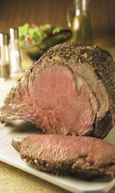 Peppery Beef Rib Roast