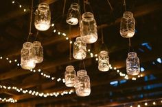 yes... I am in love with mason jars. :p Country wedding decoration idea