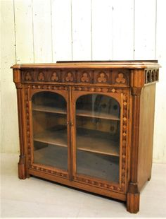 Antique French Gothic Style Side Cabinet - Decorative Collective