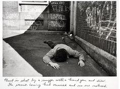 Duane Michals (b.1932) - 1981: series Christ in New York