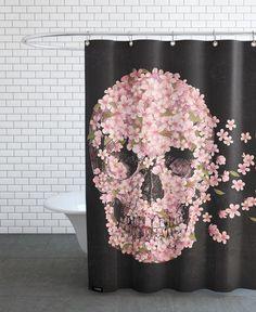 A beautiful death als Duschvorhang von Terry Fan | JUNIQE