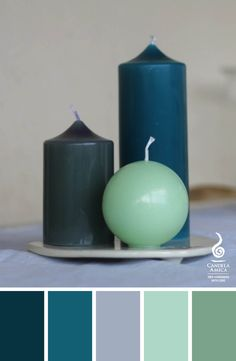 Green colors, fresh, healing, grounding,... Candles you can get creative with and simplify your life!