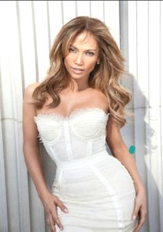 87c9c892e86 Jennifer Lopez wearing Dolce and Gabbana Spring 2009 Bustier Dress Jlo  being the hottest 44 year old ever!