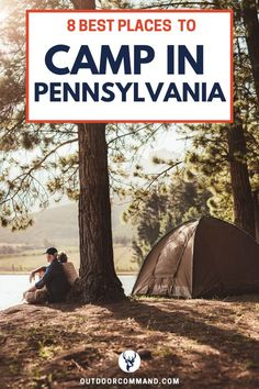 Best Camping Spots in Pennsylvania including Cherry Hill State Park, Ohiopyle State Park, and Allegheny National Forest. Pennsylvania is the perfect place to go for a family-friendly camping trip… Camping In Pa, First Time Camping, Camping Places, Camping Spots, Tent Camping, Campsite, Backpacking Tent, Women Camping, Diy Camping