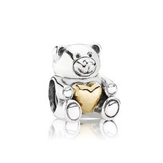 Pandora Charm - Bear My Heart
