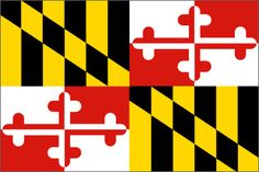 Maryland has the coolest state flag.   20 Reasons Maryland Is The Coolest State. I wouldn't say it's the coolest but it explains a lot about me