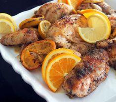 Baby Girl's Roasted Citrus Chicken