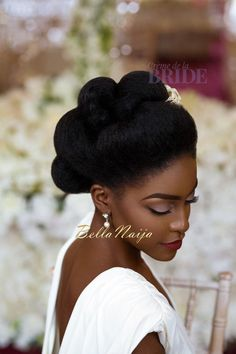 Dionne Smith Natural Hair Bride Inspiration  - Bellanaija - June2015004