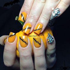Halloween by sarahp898  #nail #nails #nailart