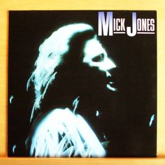 MICK JONES Same Vinyl LP FOREIGNER The wrong Side of the Law Just wanna hold RAR