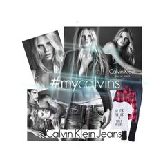 """My Calvin's"" by sarah81marshall ❤ liked on Polyvore"