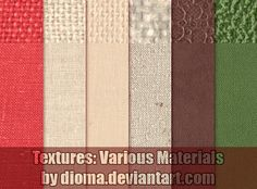 Textures: Various Materials by Dioma