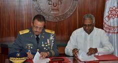 INTEC y PN suscriben acuerdo para que oficiales cursen estudios