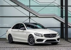 2016 Mercedes-Benz C450 AMG 4Matic offers 362 horsepower with luxurious and elegent design : For more details visit http://www.reconditionengines.co.uk/blog/category/mercedes-benz/