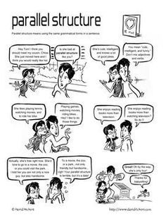 Parallel Structure: A Comic Lesson with Activities