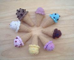 "Cute little ""Ice Cream Cones""!"