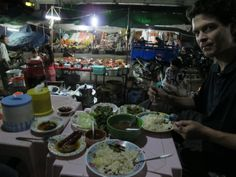 Lashio Night Market - Dinner with Tommy