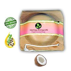 MORINGA COCONUT SOAP 2 pack Rejuvenate with this All Natural Moringa Soap Bar with Pure Essential Oils * To view further for this item, visit the image link.
