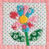 happy flower qal - week7 - Pretty by Hand -