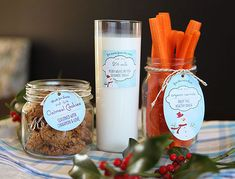 Cookies and milk for Santa (and carrots for the reindeer) | Evermine Blog | www.evermine.com