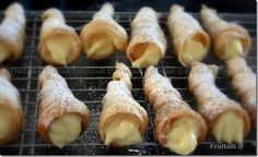 Tornillos ~canoli~Cream Horns