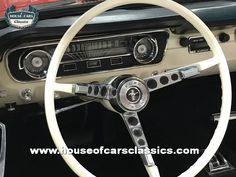 FORD MUSTANG PONY CAR V8 289 CABRIOLÉT 1965