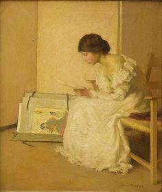 Lembranças Alice Ruggles Sohier (EUA, 1880-1969) óleo sobre tela, 65 x 55 cm Coleção Particular