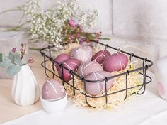 DIY-Anleitung: Shibori-Eier natürlich färben via DaWanda.com