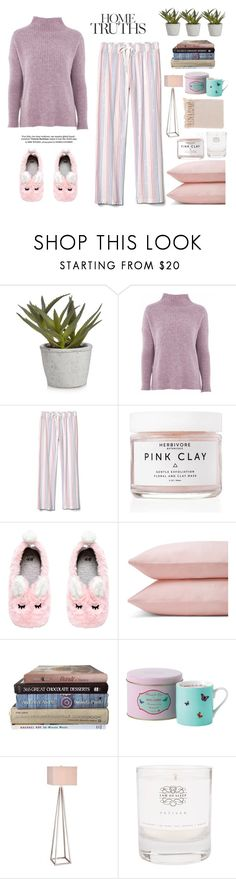 """""""Homey"""" by chococrush ❤ liked on Polyvore featuring Topshop, Herbivore, Schlossberg, JAlexander, Law of Sleep and Surya"""