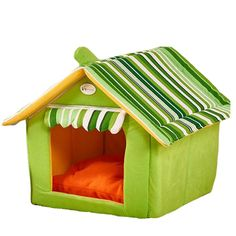 Saymequeen Puppy Cat Indoor Cave Sweet House Bed Dog Play Room Bed ** See this awesome image : Crates, Houses and Pens for dogs