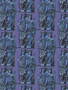 Caryatids by Sometimes a Fox Textile Design, Fabric Design, Pattern Design, Paper Background, Tech Accessories, African Fashion, How To Find Out, Fox, Textiles