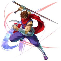 Strider Hiryu from Project X Zone 2
