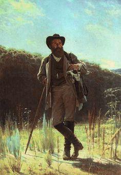 Portrait of the Artist Ivan Shishkin, 1873