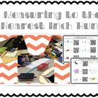 Students will enjoy this hands on math measurement activity!  Students can self-check their own responses after they measure classroom objects that...