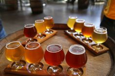 A flight of beers at The Commons Brewery. Image by Danielle Griscti / CC BY-SA 2.0