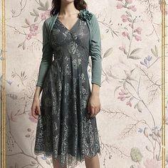 reef and teal kristen lace dress by nancy mac   notonthehighstreet.com