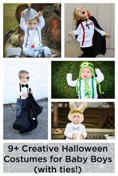 Baby Boy Halloween Costume Ideas with Ties