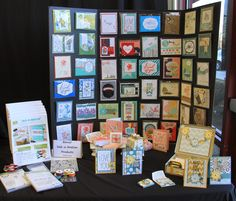 Inking Idaho: Inking Idaho on the Road Displays Part 3 Becky Roberts, Rubber Stamping, Craft Sale, Idaho, Stampin Up, Catalog, Paper Crafts, Organization, Ink