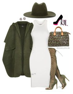 """""""Untitled #3213"""" by stylebydnicole ❤ liked on Polyvore featuring Louis Vuitton, Topshop, Études, DRKSHDW, Blue Nile, women's clothing, women, female, woman and misses"""